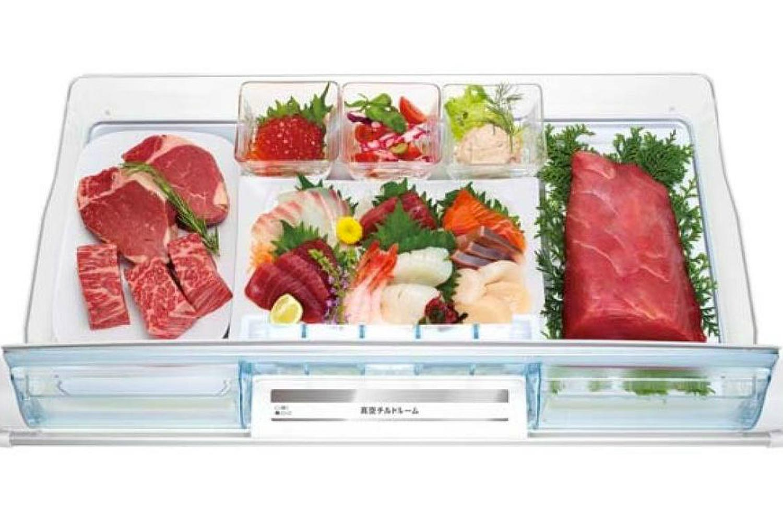 HITACHI 大型冷凍冷蔵庫 670L フレンチ6ドア