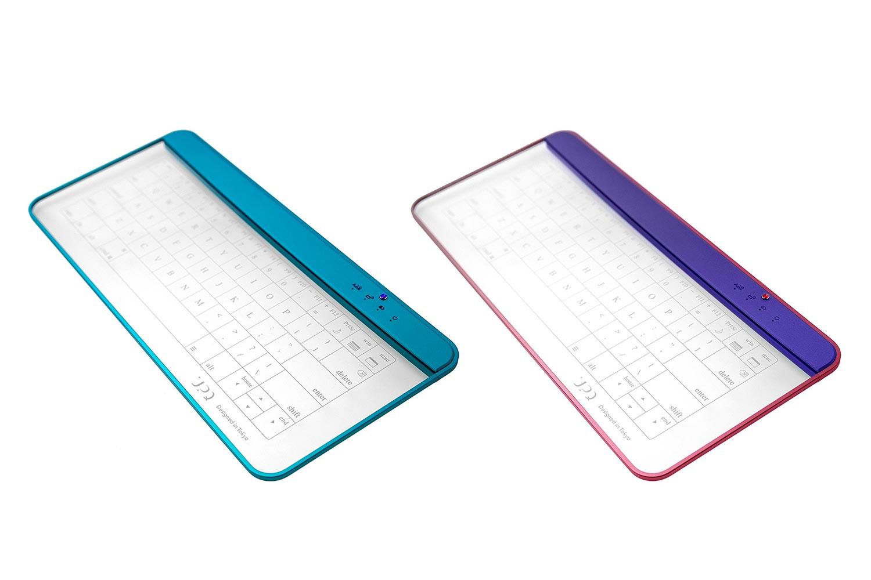 UPQ ガラス製タッチパネル式キーボード QKBD003