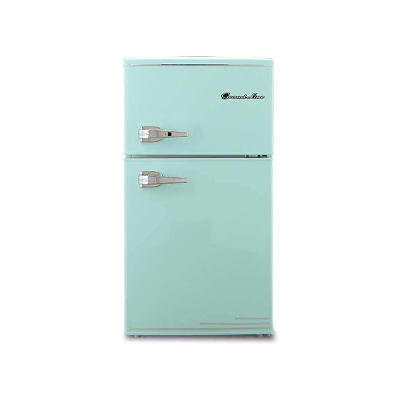 レトロ冷凍冷蔵庫 85L 2ドア