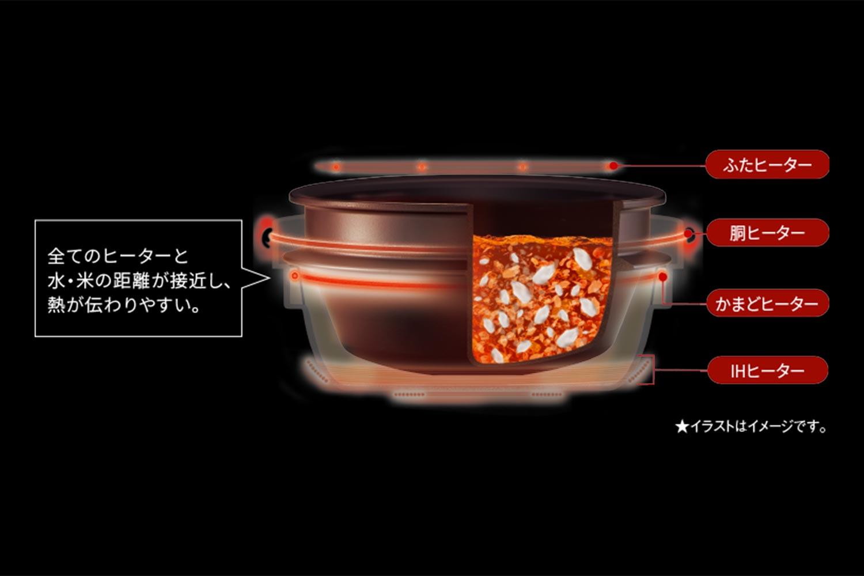 象印 圧力IHジャー炊飯器 極め炊き NW-AT10