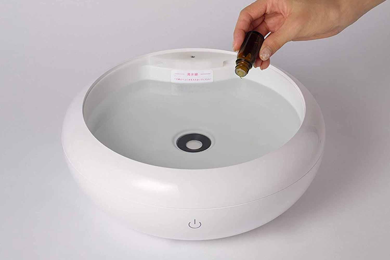 SIMPLE MIND 超音波式加湿器 UZUMIST SMHM-001