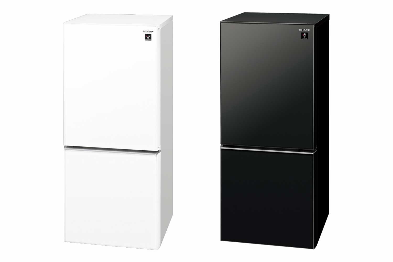 SHARP 冷凍冷蔵庫 137L 2ドア SJ-GD14F