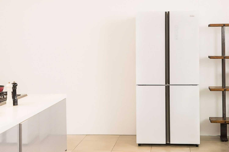 Haier 冷凍冷蔵庫 468L 4ドア JR-NF468A-W