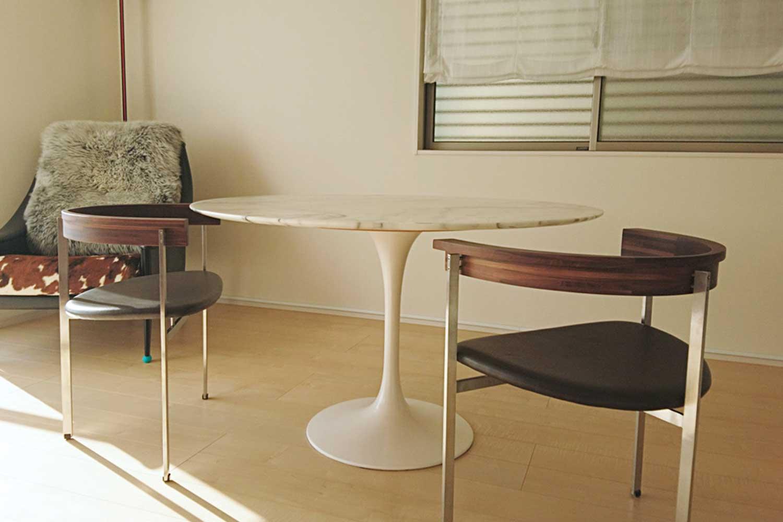 Eero Saarinen チューリップテーブル