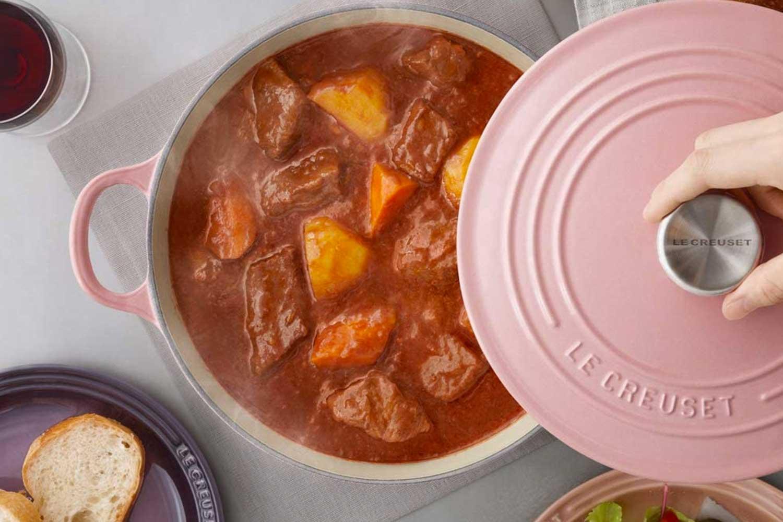 Le Creuset Enameled pot cocotte-ronde