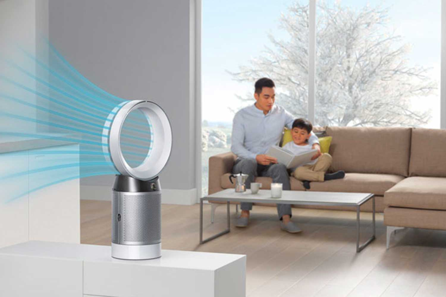 Dyson Pure Cool air filtration table fan DP04WSN